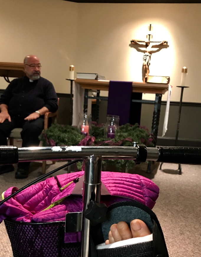 """""""Wrestling with Advent"""""""